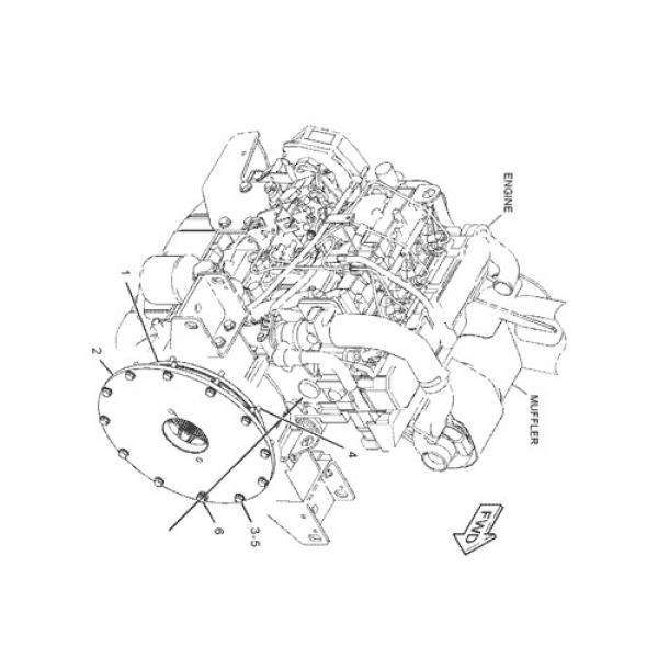 ASV SR80 Reman Hydraulic Final Drive Motor #2 image