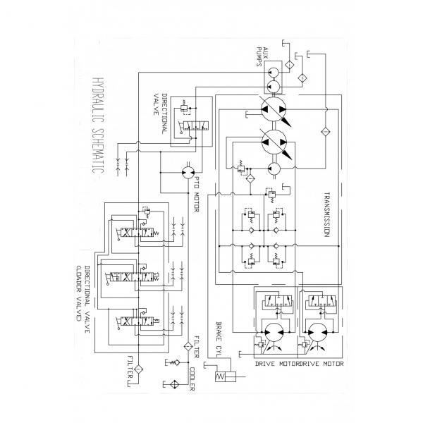 ASV RC50 SN 699+ Reman Hydraulic Final Drive Motor #3 image